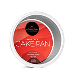 Last Confection Round Aluminum Cake Pan ...