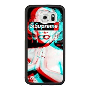 Generic Supreme image Fashion Cell Phone Case for Samsung Galaxy S6 Black HT_3908784