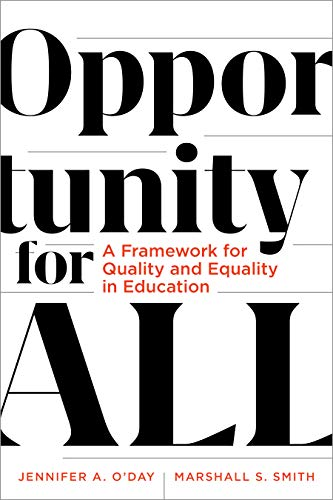 Which are the best equality of opportunity available in 2019?
