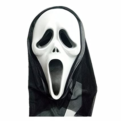 Wakerda 1 Piezas máscara de látex de Miedo de Halloween para Adultos máscara de Demonio de