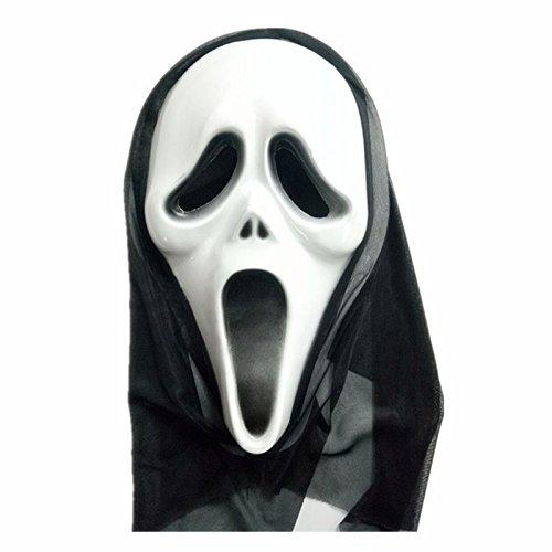 (Hosaire 1Pcs Halloween Horror Mask Novelty Rubber Latex Horror Spooky Head Masks Cosplay Masquerade Carnival)