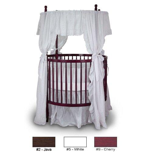 Angel Line Traditional Round Crib, Cherry (Crib Round Traditional)