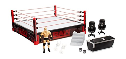 WWE Elite Collection Raw Main Event Ring Playset, Scientific Toys, 2018