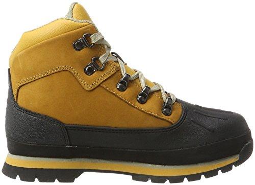 Timberland Jungen Euro Hiker Shell Toe Chukka Boots Braun (Wheat)