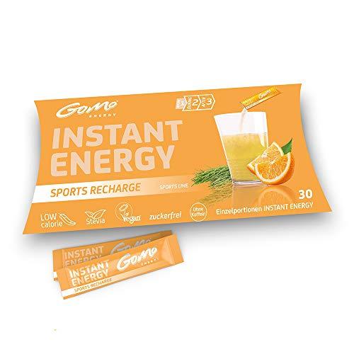 GoMo ENERGY® Bebida deportiva isotónica de minerales sin azúcar | Recarga de fuerza y recuperación corporal | Regeneración durante y después de la actividad ...