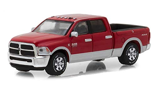 2018 Dodge Ram 2500 Big Horn Pickup Truck Red Harvest Edition Hobby Exclusive 1/64 Diecast Model Car by Greenlight 29953