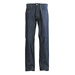 Men's Big & Tall Straight Fit Raw Denim Jeans