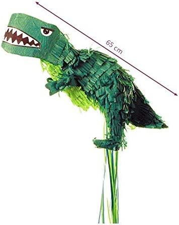 65 x 30 x 20 cm Pinata Dinosaure Vert pour Anniversaire ou babyshower Vendue Vide