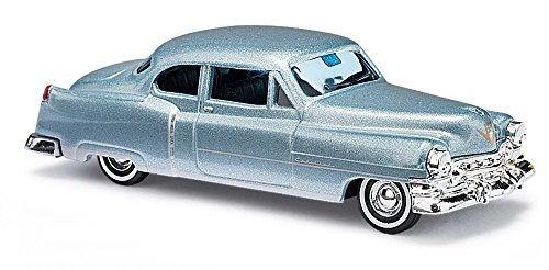 Busch 43433 1952 Cadillac Silver HO Scale Plastic Model Vehicle