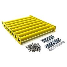 Eastern Jungle Gym Steel Monkey Bar Ladder Rungs (Set of 8), 15-1/8-Inch, Yellow