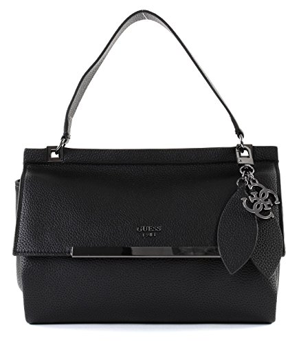 GUESS Lou Top Handle Flap Black