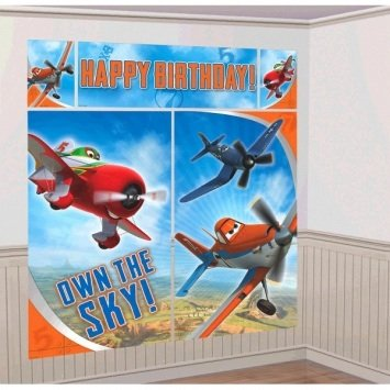 Disney Planes 2 Scene Setters Wall Decorating Kit Party Background -