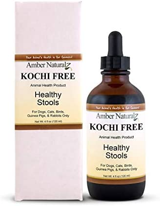 AMBER NATURALZ – Kochi Free – Healthy Stools – for Petz – 4 Ounce