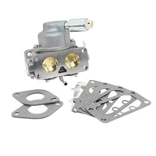 New 791230 Carburetor Carb Replacement with Mounting Gasket Kit for Briggs & Stratton V-Twin 4 Cycle 20HP 21HP 23HP 24HP 25HP Vertical Engines Replace OE# 799230 699709 499804 MIA10632 (21 Hp Briggs And Stratton Engine Head Gasket)