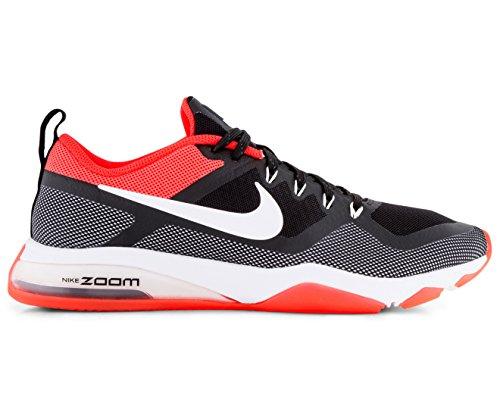 Nike Damen Sneaker Schwarz Black/Solar Red/White