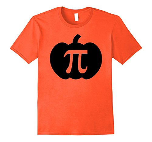 Mens Pumpkin Pi Pie Halloween Funny T-shirt 2XL (Pumpkin Pie Halloween)