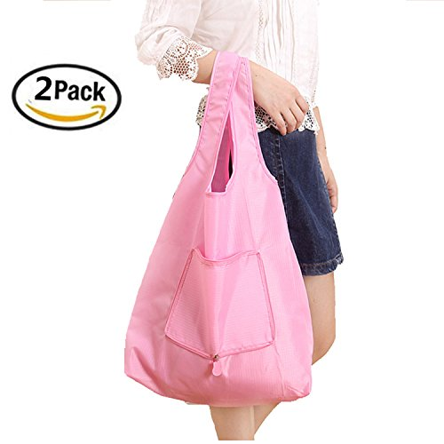 SHUYUE 2 Pack Supersize Reusable Grocery Shopping Bag Large