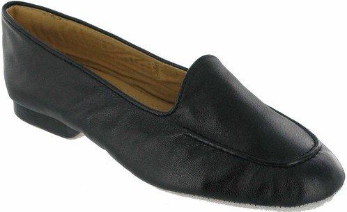 Cincasa Menorca Fornells Damen Hausschuhe aus weichem Leder & bequeme -stiefelchen Schwarz