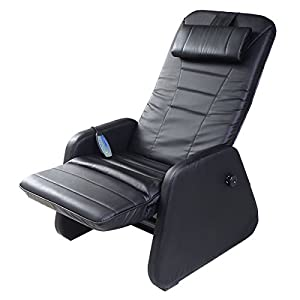 Giantex Zero Gravity Electric Massage Chair Recliner PU Leather w/Controller Black