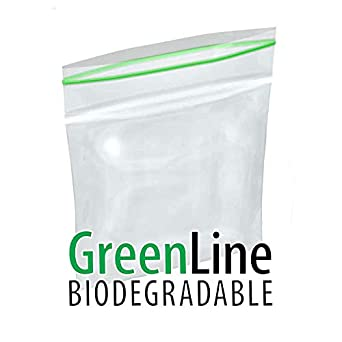 Interplas mgb20202 2 Mil Minigrip Greenline - biodegradable ...