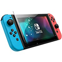 Nintendo Switch Tempered Glass Screen Protector Clear Finishing Anti Scratches wmart