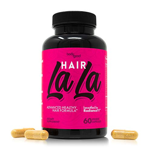 Hair La LaTM Hair Growth Formula with Biotin, Keratin for Longer, Stronger, Healthier Hair. Scientifically Formulated with Exclusive Vitamin Blend: Sea Minerals, Traditional Chinese Herbs and More! ()