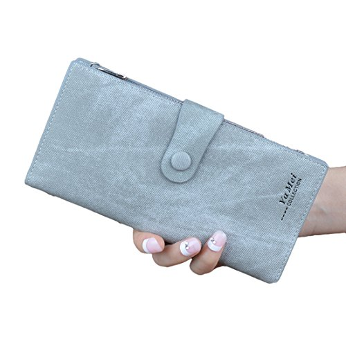 YYW purses for women - Cartera para mujer  Mujer gris