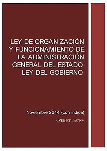 Ley de Organización y Funcionamiento de la Administración