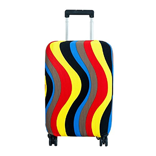 Cosplay Costumes Philippines (AoMagic Stretch Suitcase Covers Trolley Case Travel Dust Cover Luggage Protector, S)