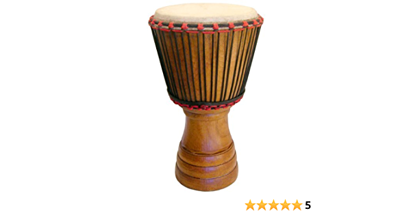 13x24 Classic Ghana Djembe Rings Carving Hand-carved Djembe Drum From Africa