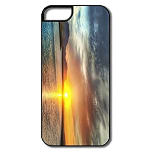 Custom Make Funny Friendly Packaging Sunset IPhone 5/5s Case For Her