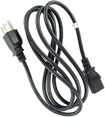 Set of 2 Premium US 7.6 FT Universal Power Cord 18 AWG IEC320 C13 to NEMA 5-15P