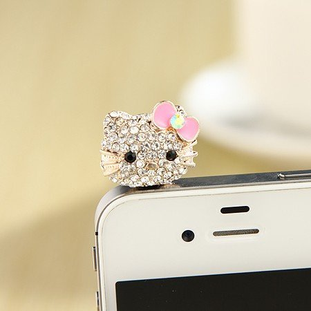 iphone jewelry plug - 6