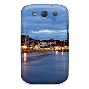 Premium Protection Venice Italy Case Cover For Galaxy S3- Retail Packaging