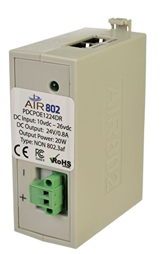 AIR802 DC - DC Converter + PoE Injector 12 VDC In and 24VDC