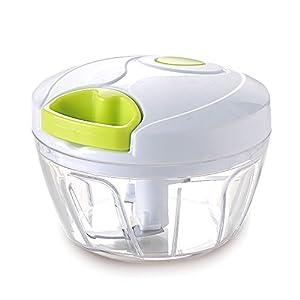 Vinipiak Manual Food Chopper For Vegetable Fruits Nuts Onions Chopper Hand Pull Mincer Blender Mixer Food processor (3 cup)