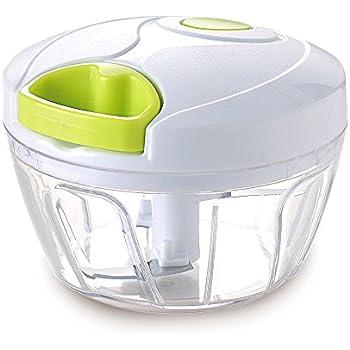 Vinipiak Manual Food Chopper For Vegetable Fruits Nuts Onions Handpower Mincer Blender Mixer processor (3 cup)