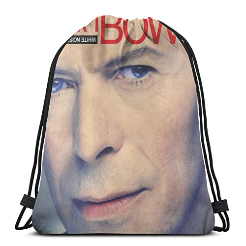 Buy david bowie backpack white