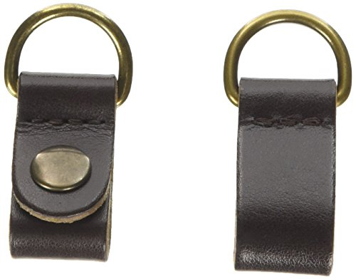 O bag Damen Chiusure Clip Pelle Handtasche, Braun (Marrone), 2 x 1 x 10 cm