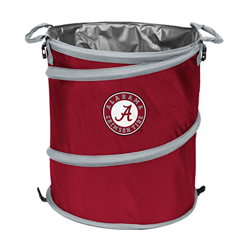 Crimson Collapsible (Logo Brands Alabama Crimson Tide Trash Can Cooler)