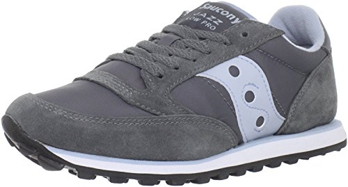 Saucony Originals Womens Jazz Low Pro Sneaker, Grau/Blau, 40.5 B(M) EU/7 B(M) UK