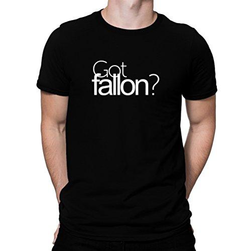 地下鉄コントロール視線Got Fallon? Tシャツ
