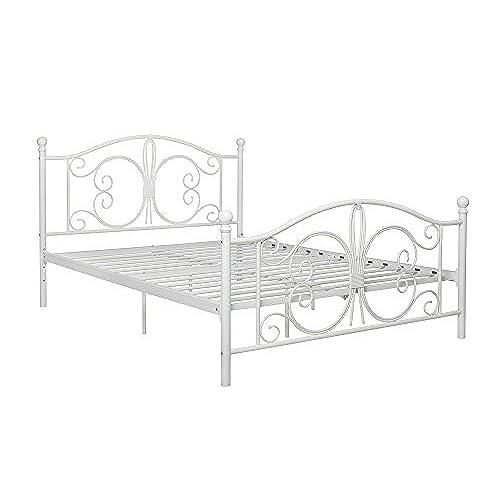 White Metal Beds: Amazon.com
