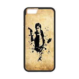 Qxhu Han Solo patterns Protective Snap On Hard Plastic Case for Iphone6 4.7""