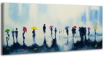 Ys Art Tableau Peinture Acrylique Vallée Des Fleurs Peint à La Main