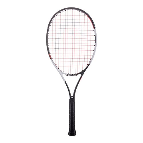 Cheap HEAD Graphene Touch Speed 25″ Inch Junior Black/Red Midplus 16×19 Tennis Racquet Strung with Blue String (Novak Djokovic's Racket)