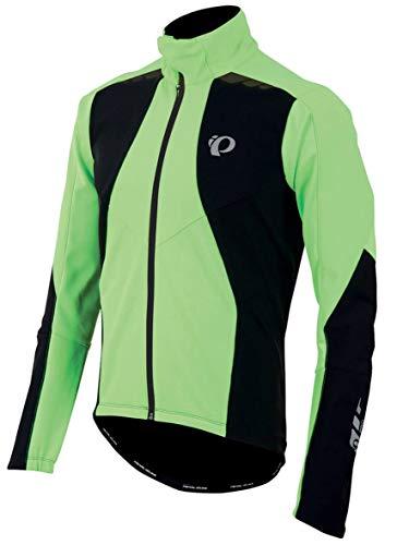Pearl Izumi - Ride Men's Pro Softshell 180 Jacket, Medium, Screaming Green/Black - Pearl Izumi Thermal Vest