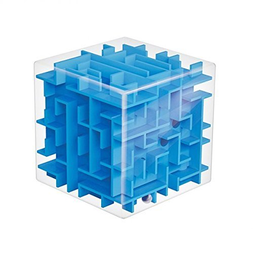 D-ROAD 3D Magic Cube Puzzle Box For Kids and Adults, Fun and Challenge For Teenagers(Blue) 3d Cube Puzzle