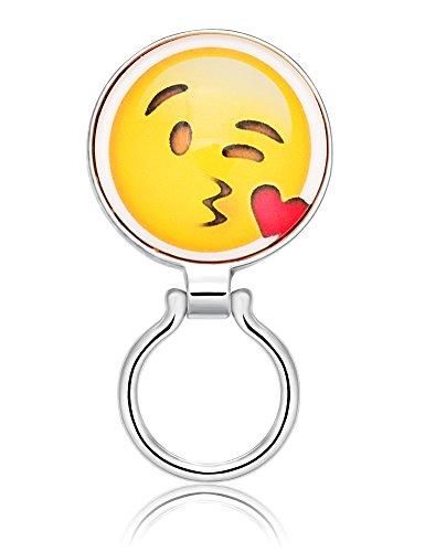 TUSHUO Interesting Internet Phiz Image Magnetic Clip Eyeglasses Holder (Love - Interesting Eyeglasses