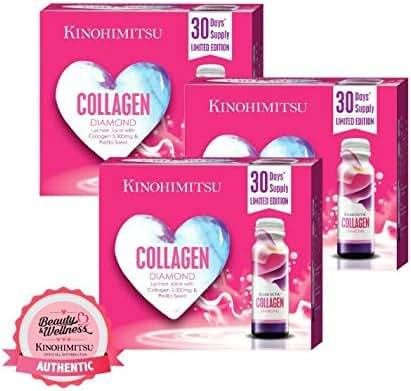 Kinohimitsu Collagen Diamond 5300mg (16s x 3 Boxes) - Bloom Box Edition